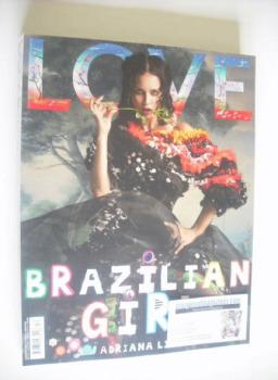 Love magazine - Issue 12 - Autumn/Winter 2014 - Adriana Lima cover