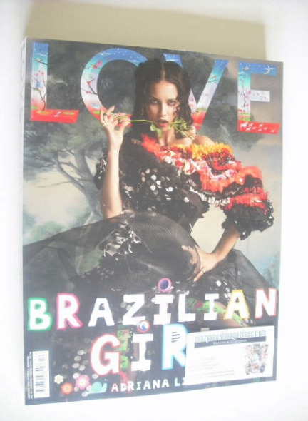 <!--2014-09-->Love magazine - Issue 12 - Autumn/Winter 2014 - Adriana Lima
