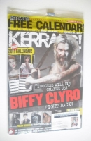 <!--2010-12-11-->Kerrang magazine - Biffy Clyro cover (11 December 2010 - Issue 1342)