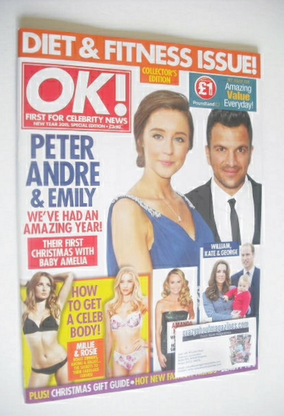 <!--2015-01-01-->OK! magazine - Peter Andre and Emily MacDonagh cover (New