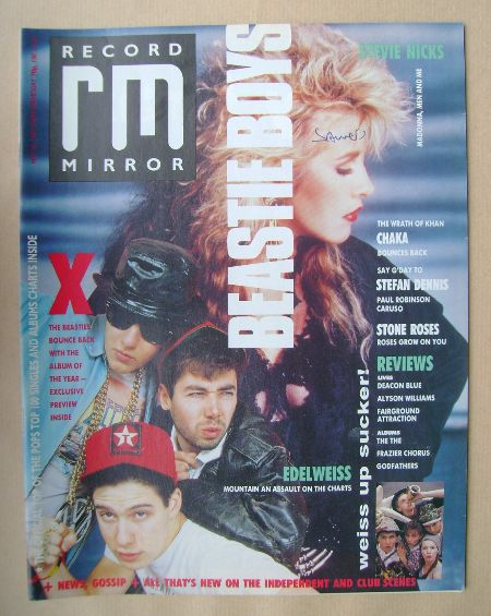 <!--1989-05-20-->Record Mirror magazine - 20 May 1989