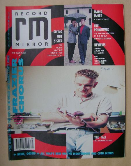 <!--1989-07-15-->Record Mirror magazine - 15 July 1989