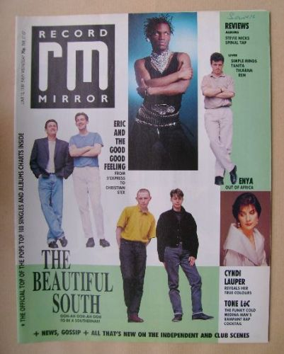<!--1989-06-10-->Record Mirror magazine - 10 June 1989