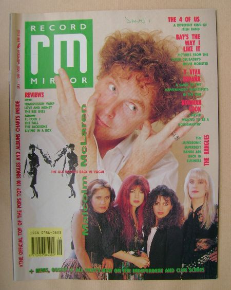 <!--1989-07-01-->Record Mirror magazine - 1 July 1989
