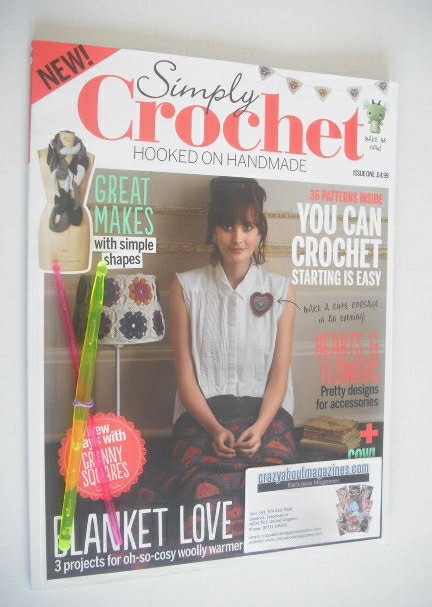 <!--0001-->Simply Crochet magazine - Issue 1