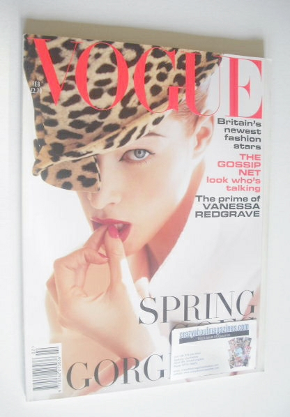 <!--1995-02-->British Vogue magazine - February 1995