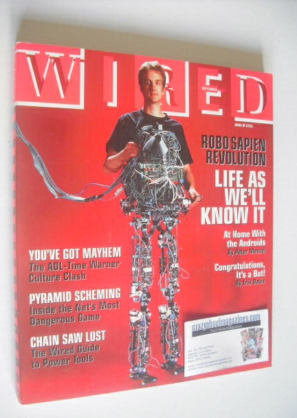 <!--2000-09-->Wired magazine - Life As We'll Know It cover (September 2000)