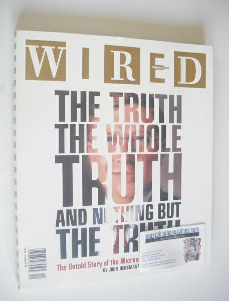 <!--2000-11-->Wired magazine - The Truth cover (November 2000)