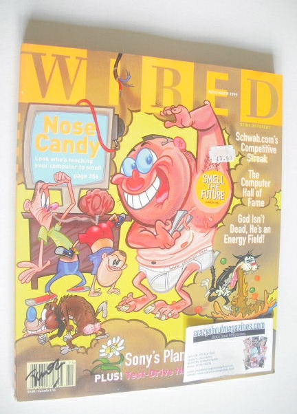 <!--1999-11-->Wired magazine - Nose Candy cover (November 1999)