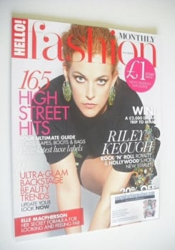Hello! Fashion Monthly magazine - November 2014 - Riley Keough cover