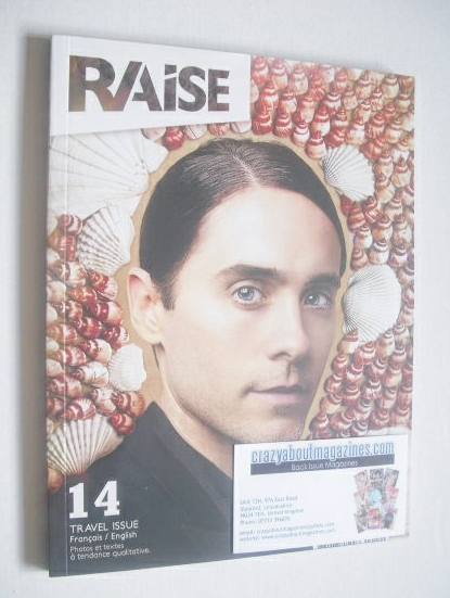 Raise magazine - Jared Leto cover (September-November 2013)