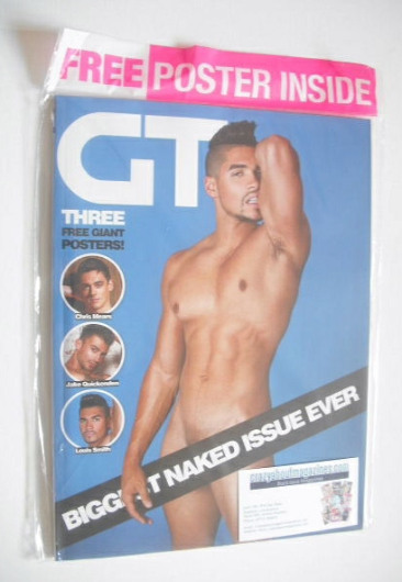 <!--2015-01-->Gay Times magazine - Louis Smith cover (January 2015)