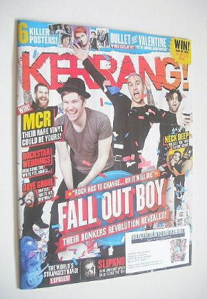 <!--2015-01-24-->Kerrang magazine - Fall Out Boy cover (24 January 2015 - I