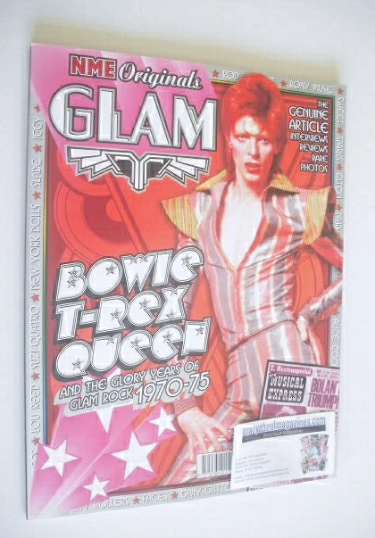 NME Originals magazine - Glam Rock cover (Volume 1 Issue 15)