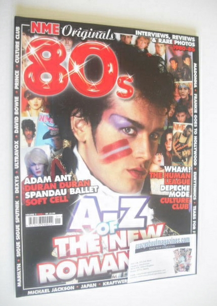 NME Originals magazine - A-Z Of The New Romantics 80s cover (Volume 2 Issue