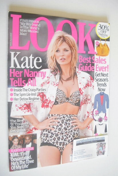 <!--2013-06-24-->Look magazine - 24 June 2013 - Kate Moss cover