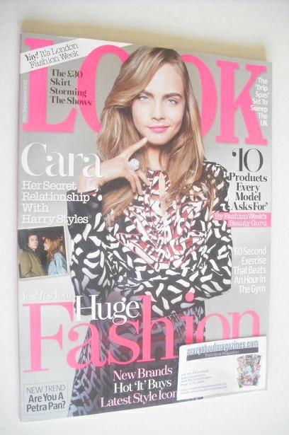 <!--2013-09-16-->Look magazine - 16 September 2013 - Cara Delevingne cover