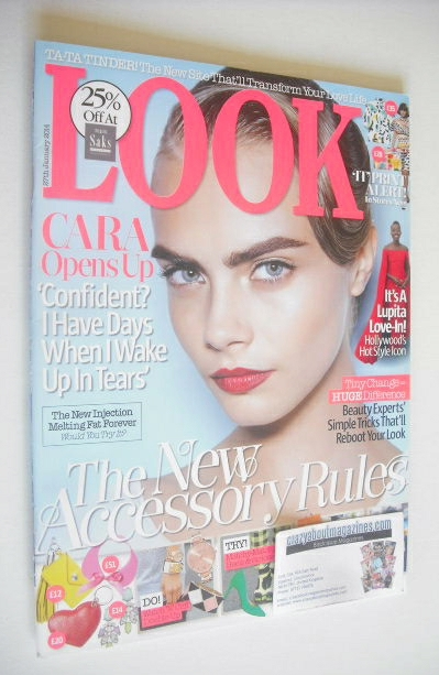 <!--2014-01-27-->Look magazine - 27 January 2014 - Cara Delevingne cover