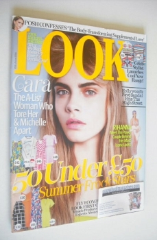 Look magazine - 16 June 2014 - Cara Delevingne cover