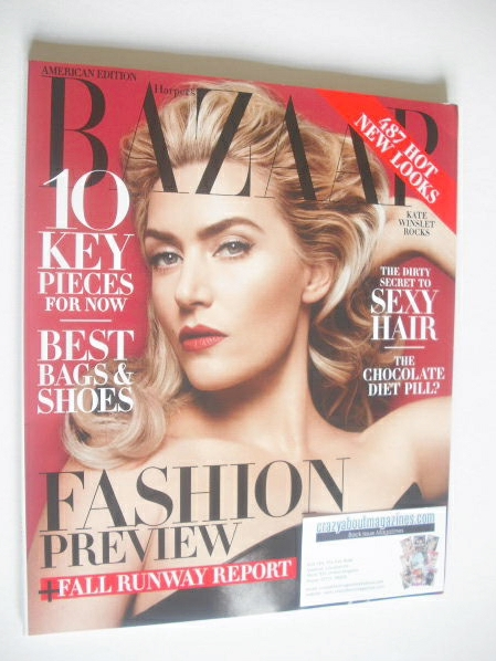 <!--2014-06-->Harper's Bazaar magazine - June/July 2014 - Kate Winslet cove
