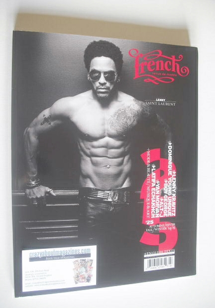 French Revue De Modes magazine (Fall/Winter 13/14 - Lenny Kravitz cover)