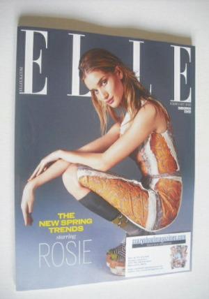 <!--2015-02-->British Elle magazine - February 2015 - Rosie Huntington-Whit