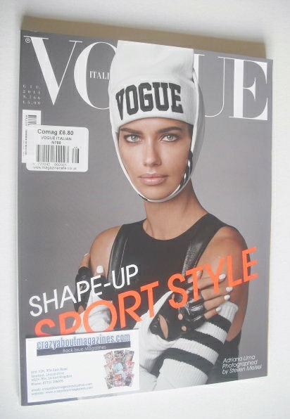 <!--2014-06-->Vogue Italia magazine - June 2014 - Adriana Lima cover
