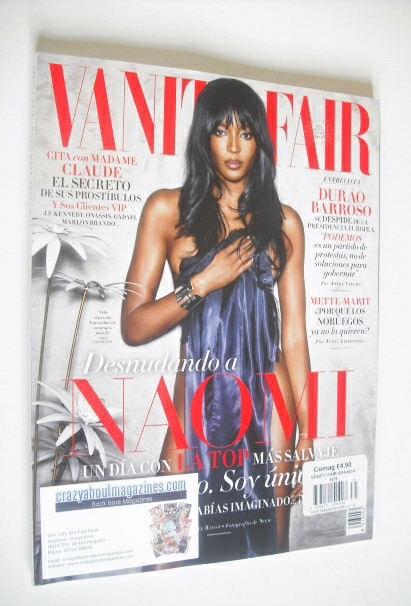 <!--2014-11-->Vanity Fair magazine - Naomi Campbell cover (November 2014 -