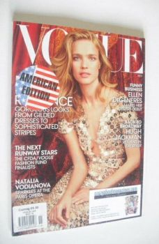 US Vogue magazine - November 2014 - Natalia Vodianova cover
