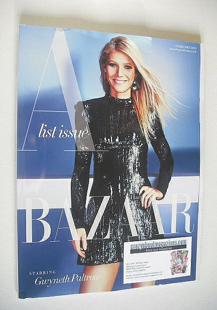 <!--2015-02-->Harper's Bazaar magazine - February 2015 - Gwyneth Paltrow co