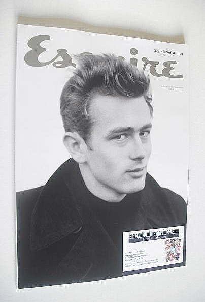 <!--2015-02-->Esquire magazine - James Dean cover (February 2015 - Subscrib