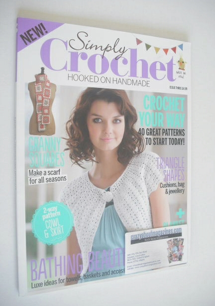 <!--0003-->Simply Crochet magazine - Issue 3