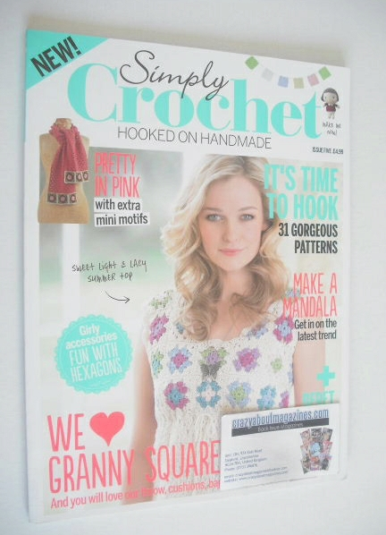 <!--0005-->Simply Crochet magazine - Issue 5
