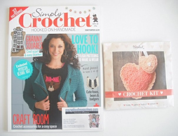 <!--0014-->Simply Crochet magazine - Issue 14