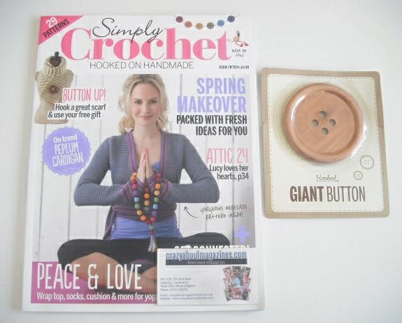 <!--0015-->Simply Crochet magazine - Issue 15