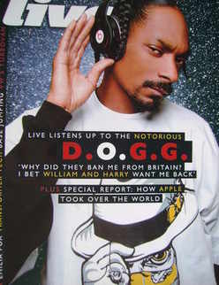 <!--2008-04-13-->Live magazine - Snoop Dogg cover (13 April 2008)