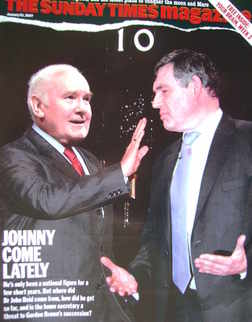 <!--2007-01-21-->The Sunday Times magazine - John Reid and Gordon Brown cov