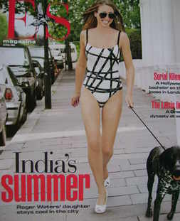 <!--2005-07-29-->Evening Standard magazine - India Waters cover (29 July 2005)