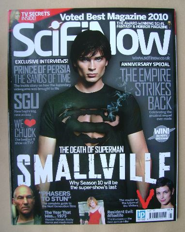 <!--0041-->SciFiNow Magazine - Tom Welling cover (Issue No 41)