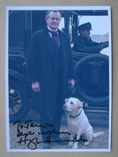 Hugh Bonneville autograph