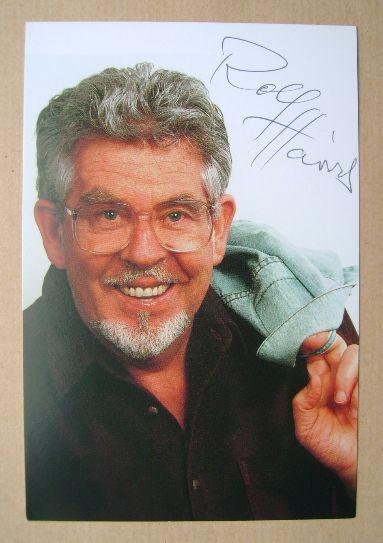 Rolf Harris autograph