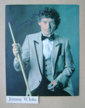 Jimmy White autograph
