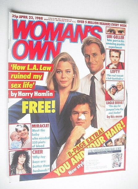 <!--1988-04-23-->Woman's Own magazine - 23 April 1988