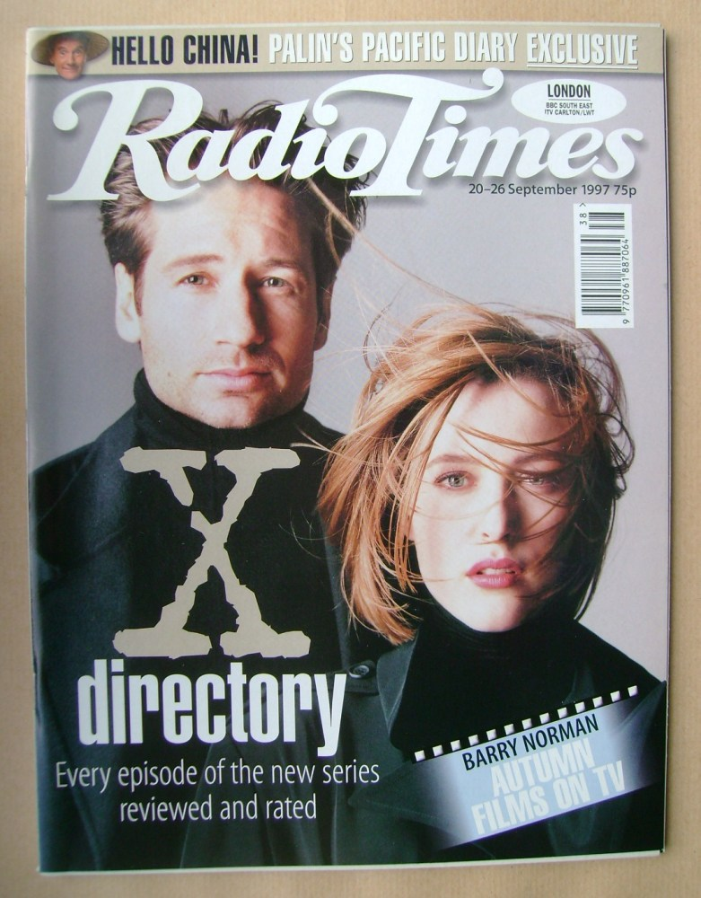 <!--1997-09-20-->Radio Times magazine - David Duchovny and Gillian Anderson