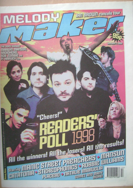 <!--1999-01-02-->Melody Maker magazine - 2 January 1999
