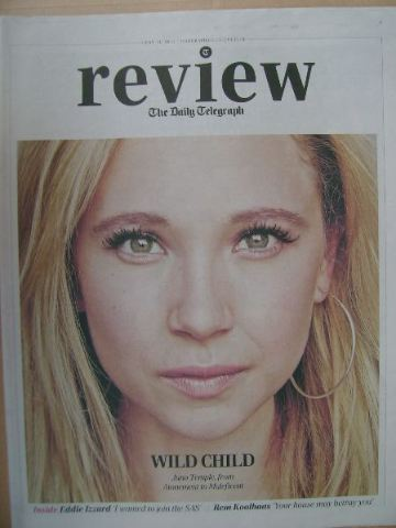The Daily Telegraph Review newspaper supplement - 31 May 2014 - Juno Temple