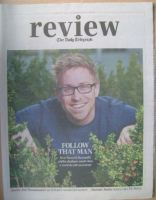 The Daily Telegraph Review newspaper supplement - 27 April 2013 - Russell Howard cover