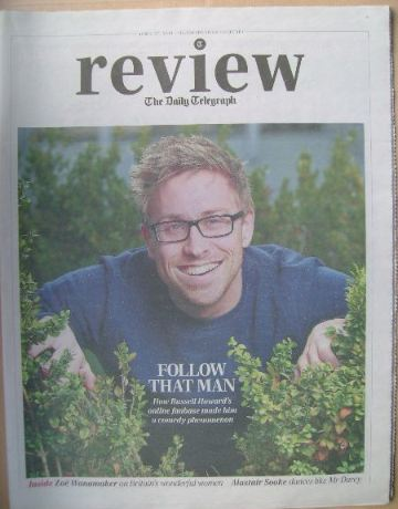 The Daily Telegraph Review newspaper supplement - 27 April 2013 - Russell H
