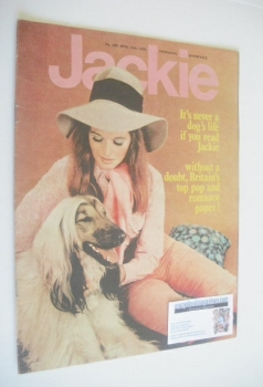 Jackie magazine - 25 April 1970 (Issue 329)