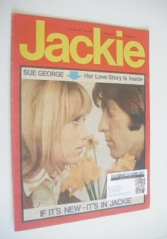 Jackie magazine - 16 May 1970 (Issue 332 - Susan George cover)